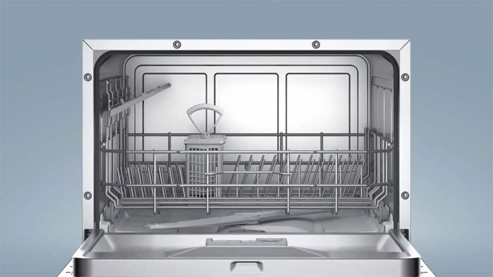 Interieur du micro lave vaisselle bosch
