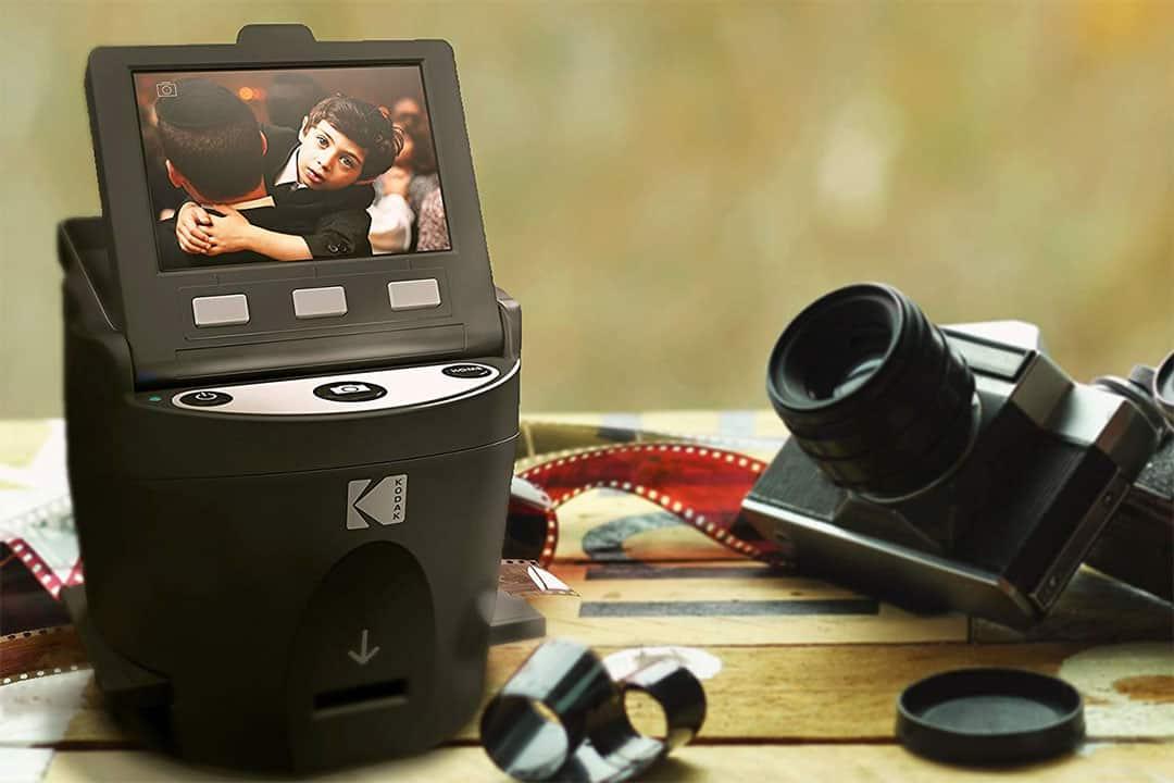 appareil argentique et mini scanner de négatifs kodak