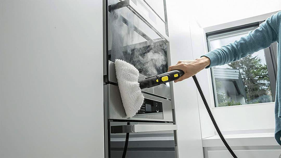nettoyage de four a la vapeur