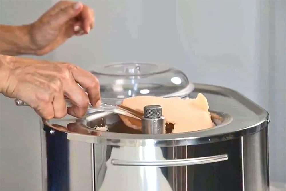 turbine a glace mussino professionelle