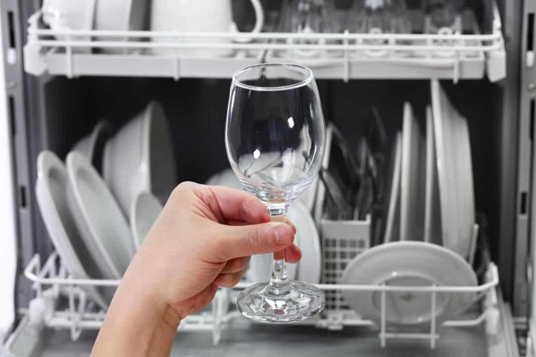 verre propre bien lavé